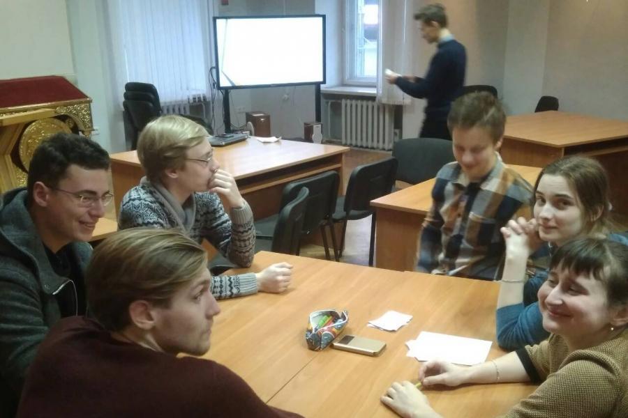 14 ноября 2017 в Институте теологии состоялся первый в этом учебном году турнир по интеллектуальной игре «Что? Где? Когда?»